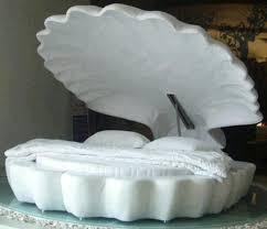Sea Shell Bed Unique Furniture Design Ideas Creative Bedroom Decorating