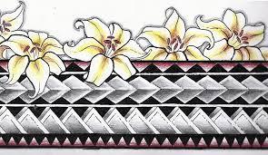 Polynesian Armband Tattoo By Aluc23