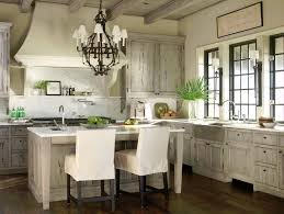 Image Of Rustic Iron Chandelier For Kitchen