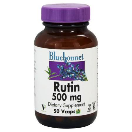 Bluebonnet Nutrition Rutin Dietary Supplement - 500mg, 50ct