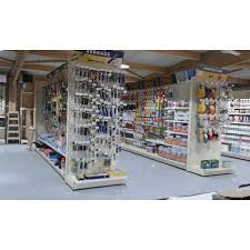 agencement magasins bricolage et quincaillerie rayonnage de magasin