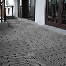 abba patio 12 x 12 inch outdoor four slat wood plastic composite