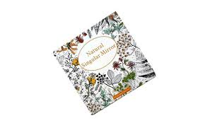 Natural Singular Mirror Fantasy Dream Adult Coloring Book For Relax