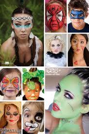 Halloween Half Mask Ideas by Best 25 Easy Halloween Face Painting Ideas On Pinterest Face