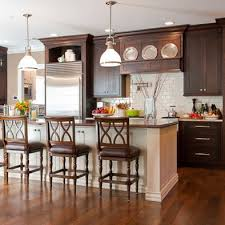 Kitchens With Dark Cabinets And Wood Floors by Best 25 Dark Cabinets Ideas On Pinterest Farm Kitchen Decor