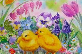 Chicks Spring Flowers Workshop With Reiko Hervin