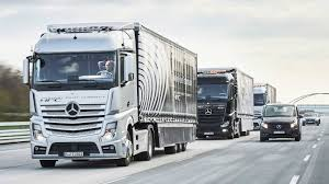 Mercedes Self-Driving Semi-Trucks Are Now Roaming The Autobahn - The ... Tesla Semi Trucks On The Road Iepieleaks Surprise Cummins Unveils An Allelectric Semi Truck Ahead Of Volvo Tractors Trucks For Sale N Trailer Magazine Used Trailers Tractor Highway Heroes 13 Line Michigan Freeway To Save Man Custom Pictures Free Big Rig Show Tuning Photos Nikola One How About A 6x6 Electric 2000 Hp For 5000 Teamsters Sets Up Road Blocks Autonomous Semitrucks Trains Australias Mega Semitrucks 1800 Wreck Commentary Cant Compete Fortune Green White Rigs Stock Photo Royalty