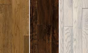 Various Styles Of Hardwood Floors From Dark Brown To Light