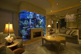 fish aquarium drawing room