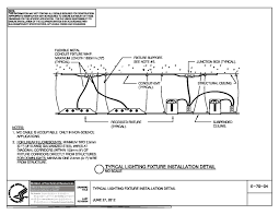 Lighting Fixture Installation Detail Nih Standard Cad Details
