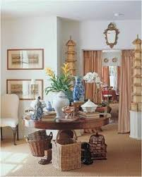 Entrance Hall Vignette By Mary McDonald