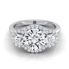 Amazoncom Trellis Set Oval Cut Blue CZ Wedding Ring For