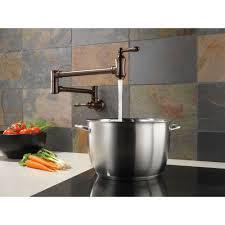 Delta Floor Mount Tub Filler T4797 delta faucet 1177lf traditional polished chrome pot filler kitchen