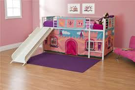 Doc Mcstuffin Bedroom Set by Dhp Furniture Dhp Junior Loft Bed With Slide And Princess Castle