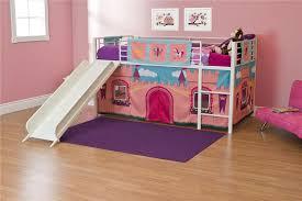 Doc Mcstuffins Toddler Bed Set by Dhp Furniture Dhp Junior Loft Bed With Slide And Princess Castle