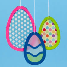 Paper Easter Egg Crafts How To Make And Bunny Suncatchers Spring