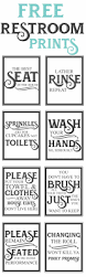 Half Bathroom Decorating Ideas by Best 25 Bathroom Signs Ideas On Pinterest Bathroom Signs Funny