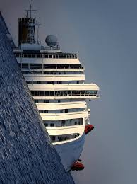 Cruise Ship Sinking Now by Wrecked Cruise Ship With A Tilted Earth Rebrn Com