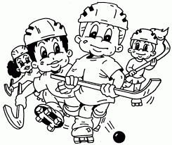 Nhl Logo Coloriage 65134 Hockey Coloring Pages