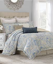 Blue Paisley Bedding Full High Resolution Download