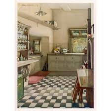 1940s Bathroom Interior Design