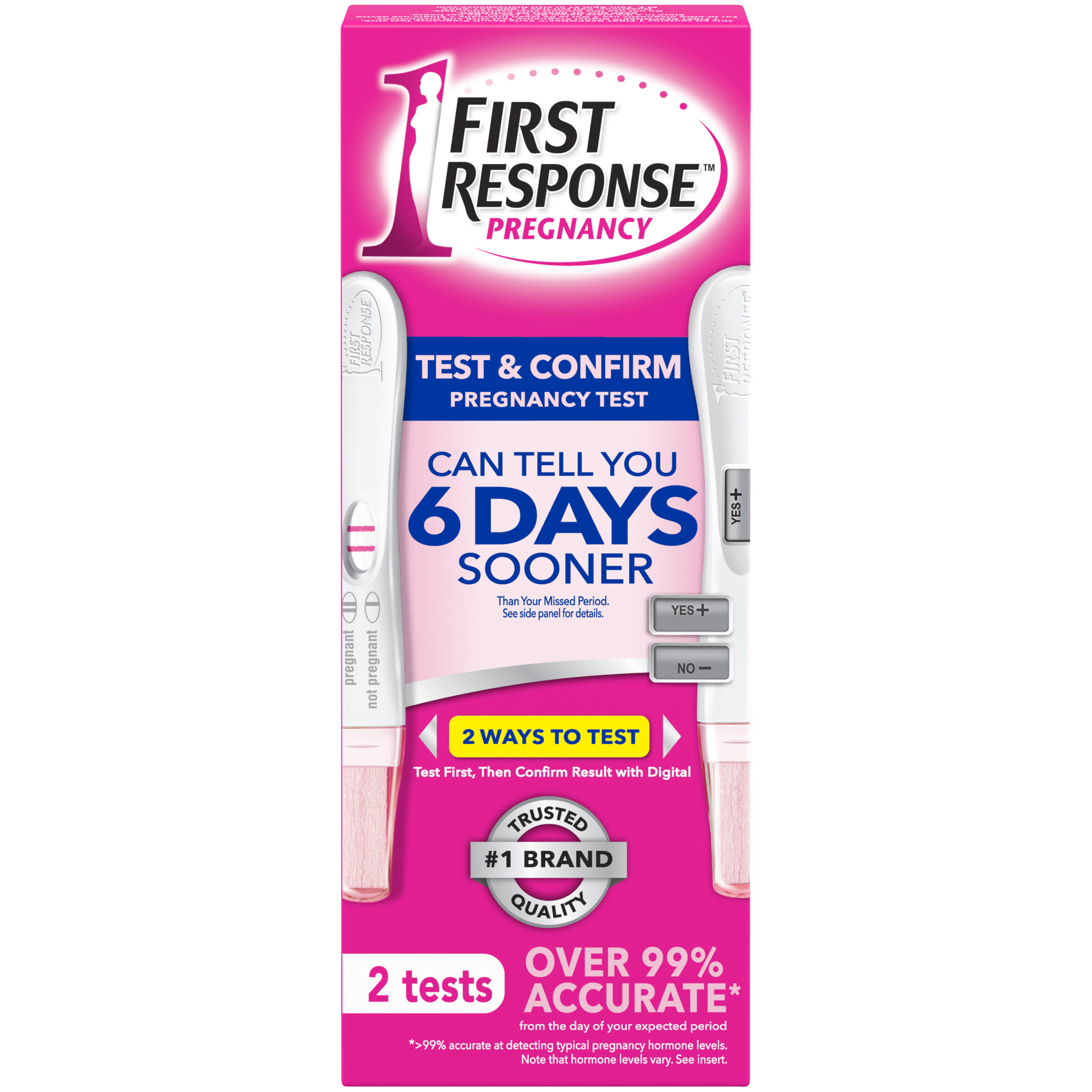 First Response Pregnancy Tests - 2ct
