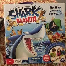 Like New Shark Mania Board Game