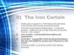 Who Coined The Iron Curtain by American History Chapter 19 The Cold War I Origins Of The Cold
