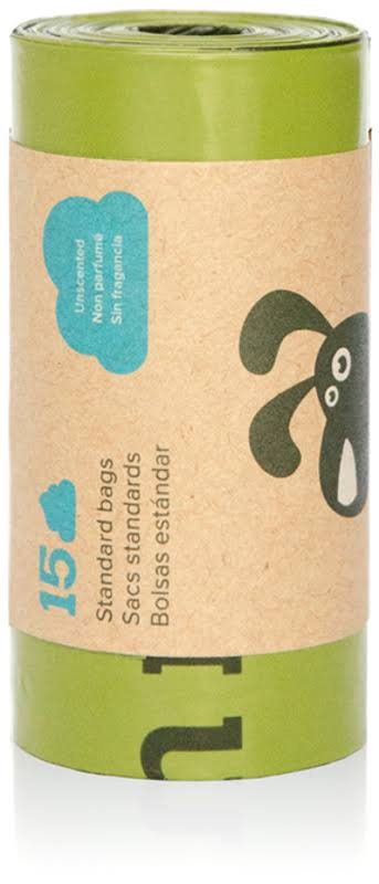 Earth Rated Poop Bags Unscented 15 Bag Roll