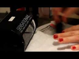 Sensationail Led Lamp Walmart by Sensationail Gel Manicure Tutorial By Kristinaice Youtube