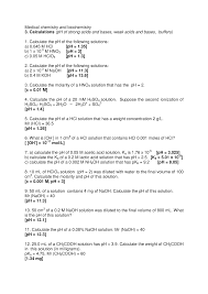 100 Ph Of 1 Biochem 3 Calculation Skole32 UK StuDocu