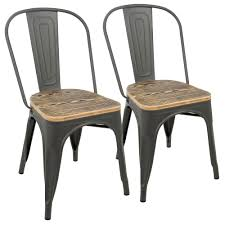 Lumisource Oregon Grey And Brown Dining Chair (Set Of 2) DC-TW-OR2 ... Affordable Ding Chairs The Twisted Horn Home Ding Room In Buy Federico Velvet Chair Decorelo Wwwderelocouk Fniture Unbelievable Cool Seagrass With Entrancing Wooden Online India At Cheap Cheap Australia Cushion Outdoor Patio Home Depot Best Kitchen For Oak Antique White Table Interesting 70 Off Restoration Hdware Cream Discount Room Amazoncom Christopher Knight 299537 Hayden Fabric Colibroxset Of 4 Pu Leather Steel Frame Chairs Melbourne 100 Products Graysonline