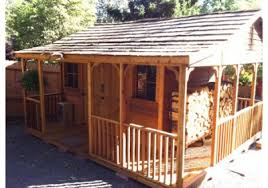 16x20 Shed Plans With Porch by Sheds With Porches Wood Sheds With Porches Storageshedsoutlet Com