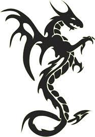 Tattoo Clipart Dragon 2