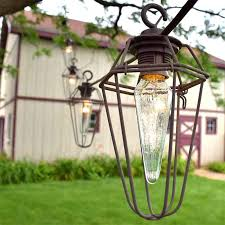 vintage wire cage lights