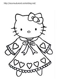 Coloriages Kitty à Imprimer Ecosia