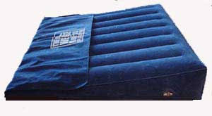 deluxe no flux inflatable bed wedge