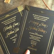 Wedding Invitation Cardstock Rustic Long Program