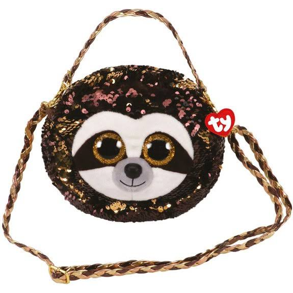 Ty Fashion Flippy Sequin Purse - Dangler The Sloth (8 inch)
