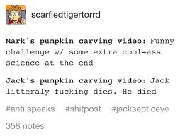 Funny Pumpkin Carvings Youtube by Not Even Kidding Litterally What Happened Youtube Pinterest