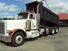 100 Tri Axle Truck USED 2006 PETERBILT 379 EX HOODS TRIAXLE STEEL DUMP TRUCK FOR SALE