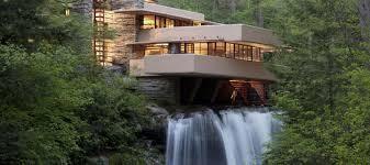 100 Water Fall House Ingwater Frank Lloyd Wright Foundation