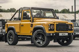 100 Defender Truck 2015 Land Rover XS 90 By Chelsea Co HiConsumption