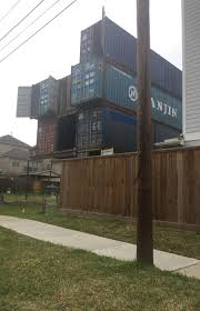 100 House Storage Containers Of 11 Stacked Shipping On McGowen Now Awaiting