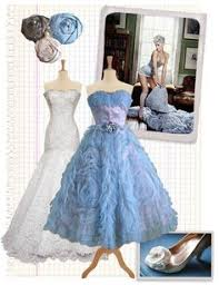 Blue Wedding Dress Available in Every Color 22