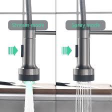 qd niederdruck wasserhahn küche gebürsteter nickel