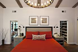 View In Gallery An Easy Way To Add Red For A Romantic Bedroom By Fiorella Design
