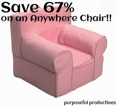 Purposeful Productions: How To Save BIG On A PBK Anywhere Chair Kids Baby Fniture Bedding Gifts Registry Desk Chair Oversized Chairs Astounding Pottery Barn Anywhere 12461 Light Pink Ideas Chic Slipcovers For Better Sofa And Look Decorating Slipcovered Parsons Black Friday 2017 Sale Deals Christmas A Crafty Escape Knockoff Purposeful Productions How To Save Big On A Pbk