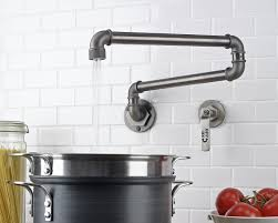 Pot Filler Faucet Over Electric Stove