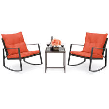 BestChoiceProducts: Best Choice Products 3-Piece Patio Wicker Bistro ...